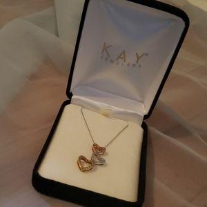 KAY Jewelers 10K Mixed Gold & Diamonds